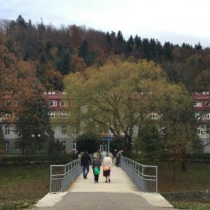 Szpital uzdrowiskowy Eskulap w Rymanowie Zdroju.