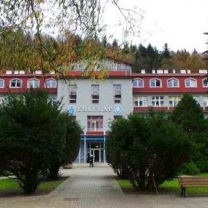 Sanatorium Eskulap w Rymanowie-Zdroju.